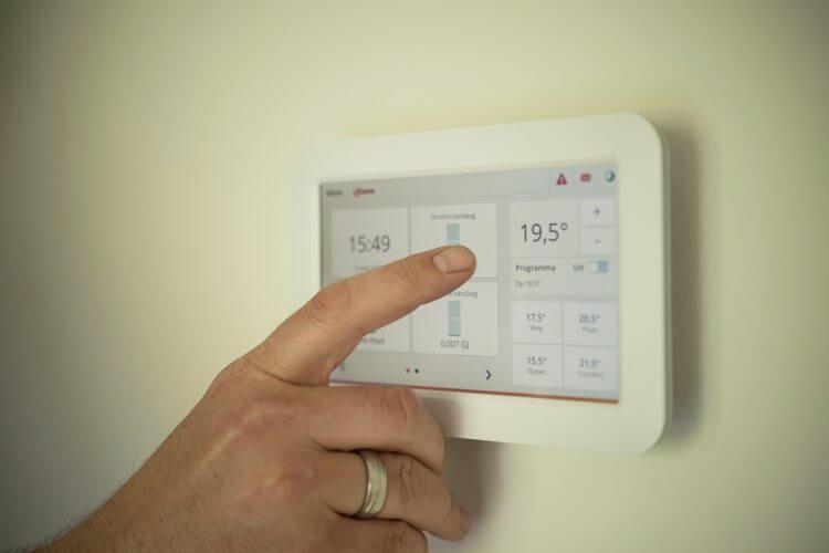 termostato de aire acondicionado
