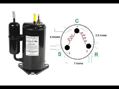 Conectar un compresor de aire acondicionado