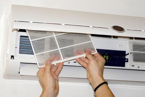 limpiar filtro aire acondicionado