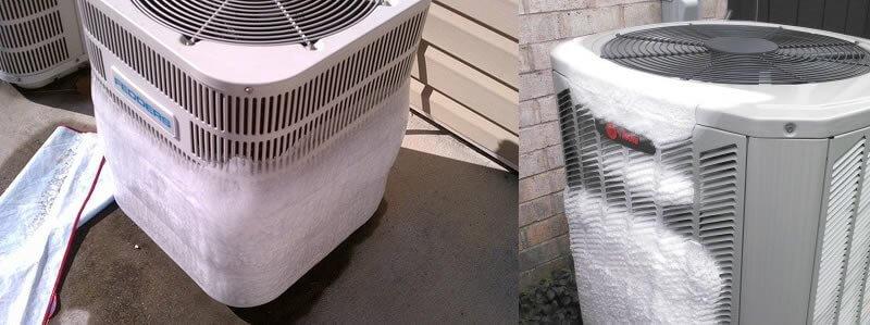 maquina de aire congelada
