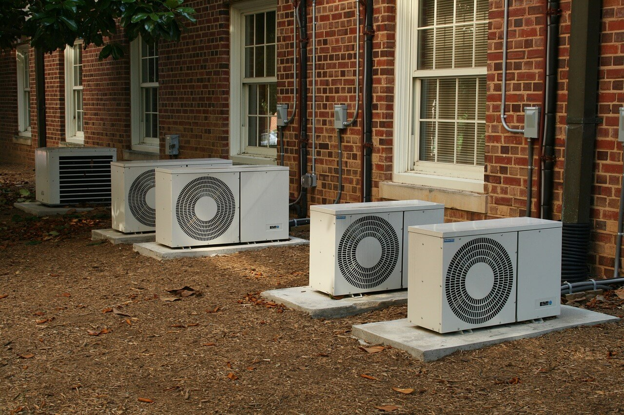 unidad exterior aires acondicionados